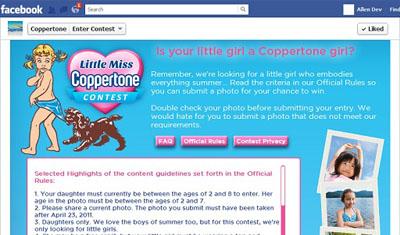 Little Miss Coppertone Contest