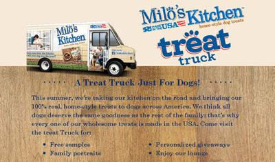 Milo's Kitchen Treat Truck